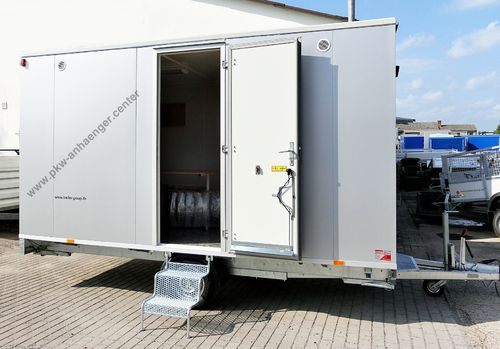 bau mannschaftswagen bauwagen aufenthaltsanh nger pkw. Black Bedroom Furniture Sets. Home Design Ideas